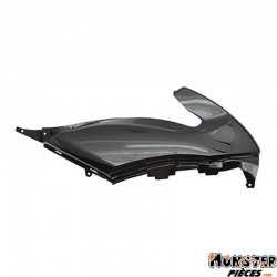 CARENAGE-CAPOT DE SELLE MAXISCOOTER ADAPTABLE YAMAHA 500 TMAX 2008>2011 NOIR BRILLANT DROIT  -P2R-