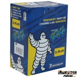 CHAMBRE A AIR 21''  2.75-21 MICHELIN 21 TRIAL VALVE TR4