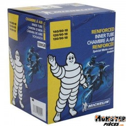 CHAMBRE A AIR 18'' 100-100-18 A 130-90-18 MICHELIN 18MGR VALVE TR4