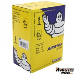 CHAMBRE A AIR 19''  2.50-19 , 3.00-19 , 90-90-19 MICHELIN 19ME VALVE TR4