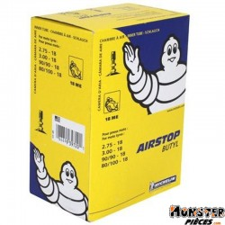 CHAMBRE A AIR 18''  2.75-18 , 3.00-18 , 90-90-18 MICHELIN 18ME VALVE TR4