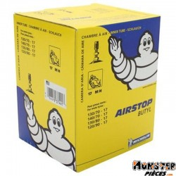 CHAMBRE A AIR 17'' 120-90-17 , 130-70-17 , 130-80-17 , 140-70-17 MICHELIN 17MH VALVE TR4