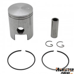 PISTON 50 A BOITE OLYMPIA POUR MINARELLI 50 AM6-MBK 50 X-POWER, X-LIMIT-YAMAHA 50 TZR, DTR-PEUGEOT 50 XPS-RIEJU 50 RS1-BETA 50 R