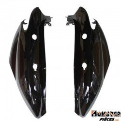 CARENAGE-COQUE AR SCOOT ADAPTABLE MBK 50 OVETTO 2008>-YAMAHA 50 NEOS 2008> NOIR BRILLANT (PAIRE)