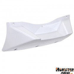 SABOT BAS DE CAISSE SCOOT REPLAY DESIGN EDITION ADAPTABLE MBK 50 BOOSTER 2004>-YAMAHA 50 BWS 2004> BLANC BRILLANT ADAPTABLE MONT