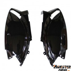 CARENAGE-COQUE AR SCOOT ADAPTABLE PIAGGIO 50 ZIP 2000> NOIR BRILLANT (PAIRE)