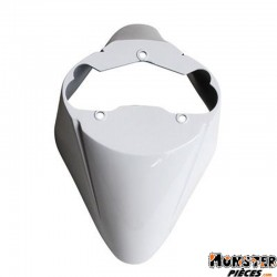 GARDE BOUE SCOOT AV ADAPTABLE PIAGGIO 50 ZIP 2000> BLANC BRILLANT