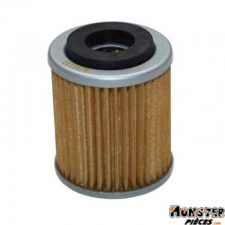 FILTRE A HUILE MAXISCOOTER HIFLOFILTRO POUR YAMAHA 125 CYGNUS 1996>2003, MAJESTY, SR-MBK 125 FLAME 1996>2003, SKYLINER (38x48mm)