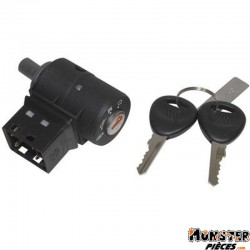 CONTACTEUR A CLE CYCLO ADAPTABLE PEUGEOT 50 FOX  -SELECTION P2R-
