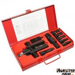 ARRACHE ROULEMENT DE CARTER MOTEUR DIAM 8 A 25mm AVEC OUTIL FIXATEUR  -BUZZETTI-  (5032)
