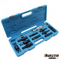 ARRACHE ROULEMENT DE CARTER MOTEUR DIAM 8 A 30mm + ARRACHE SILENBLOC 20x17MM ET 30x28MM  -BUZZETTI-  (5030)