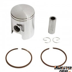 PISTON 50 A BOITE ADAPTABLE DERBI 50 SENDA, GPR-GILERA 50 SMT, RCR-APRILIA 50 RS 2006> (MOTEUR EURO 2 + 3) (SEGMENTS 1,2mm)  -P2