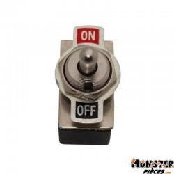 INTERRUPTEUR ON-OFF STANDARD CHROME