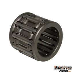 CAGE A AIGUILLES DE PISTON 10x14x13 CAGE STANDARD ADAPTABLE MBK 50 BOOSTER, NITRO, OVETTO 2T, STUNT-YAMAHA 50 BWS, AEROX, NEOS 2