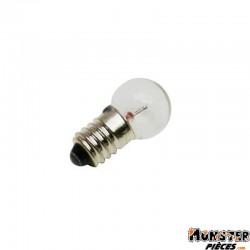AMPOULE-LAMPE  6V  1,8W NORME E10 CULOT G14 A VIS BLANC (FEU DE POSITION) (BOITE DE 10)  -SELECTION P2R-