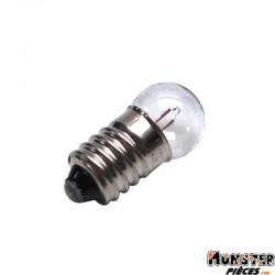 AMPOULE-LAMPE  6V  6W NORME E10 CULOT G14 A VIS BLANC (FEU DE POSITION) (BOITE DE 10)  -SELECTION P2R-