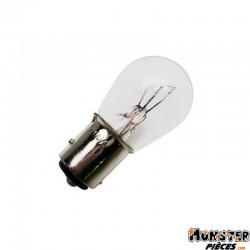 AMPOULE-LAMPE  6V 21-5W NORME 21-5 CULOT BAY15D STANDARD BLANC (FEU ARRIERE+STOP) (BOITE DE 10)  -SELECTION P2R-