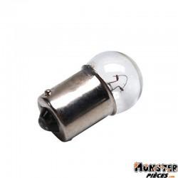 AMPOULE-LAMPE 12V  5W NORME R5W CULOT BA15S GRAISSEUR STANDARD BLANC (FEU DE POSITION) (BOITE DE 10)  -SELECTION P2R-