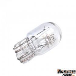 AMPOULE-LAMPE 12V 21-5W CULOT W2,1x9,5D WEDGE STANDARD BLANC (STOP ET CLIGNOTANT) (BOITE DE 10)  -SELECTION P2R-