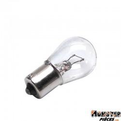 AMPOULE-LAMPE 12V 21W NORME P21W CULOT BA15S STANDARD BLANC (STOP ET CLIGNOTANT) (BOITE DE 10)  -SELECTION P2R-