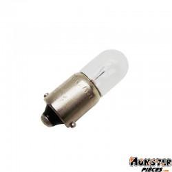AMPOULE-LAMPE 12V  4W NORME T4W CULOT BA9S TEMOIN STANDARD BLANC (FEU DE POSITION) (BOITE DE 10)  -OSRAM-