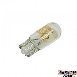 AMPOULE-LAMPE 12V  5W NORME W5W CULOT W2,1x9,5D WEDGE STANDARD BLANC (FEU DE POSITION) (BOITE DE 10)  -OSRAM-