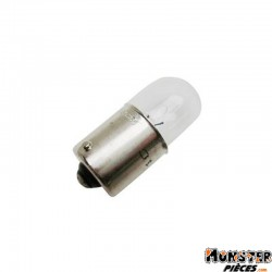 AMPOULE-LAMPE 12V 10W NORME R10W CULOT BA15S GRAISSEUR STANDARD BLANC (FEU ARRIERE+STOP-CLIGNOTANTS) (BOITE DE 10)  -OSRAM-