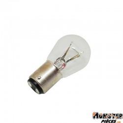 AMPOULE-LAMPE 12V 21-5W NORME P21-5W CULOT BAY15D STANDARD BLANC (FEU ARRIERE+STOP) (BOITE DE 10)  -OSRAM-
