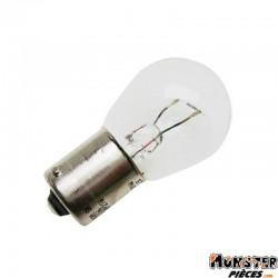 AMPOULE-LAMPE 12V 21W NORME P21W CULOT BA15S STANDARD BLANC (FEU ARRIERE+STOP) (BOITE DE 10)  -OSRAM-