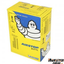 CHAMBRE A AIR 18''  3.25-18 , 3.50-18 , 110-80-18 , 120-80-18 , 130-70-18 , 130-80-18 MICHELIN 18MG VALVE TR4