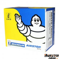 CHAMBRE A AIR 12''  2.50-12 A 80-100-12 MICHELIN 12MCR VALVE TR4 (CROSS)