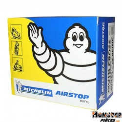 CHAMBRE A AIR 14''  90-100-14 MICHELIN RSTOP REINF VALVE TR4 (CROSS)