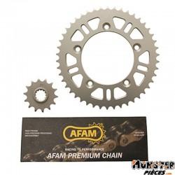KIT CHAINE ADAPTABLE KTM 65 SX 2011> 420  14x46  -AFAM-