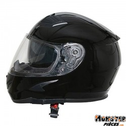 CASQUE INTEGRAL ADX XR3 UNI NOIR BRILLANT   S  (DOUBLE ECRANS)