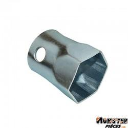 CLE POUR ECROU DE POULIE RECEPTRICE POUR PIAGGIO 300-400-500 BUZZETTI DIAM 55 L 100 MM (5449)