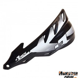 PROTEGE MAIN MOTOCROSS RTECH VERSION FERME RAPTOR NOIR (AVEC KIT DE MONTAGE) (MADE IN ITALY)