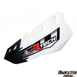 PROTEGE MAIN MOTOCROSS RTECH VERSION OUVERT FLX BLANC (AVEC KIT DE MONTAGE) (MADE IN ITALY)