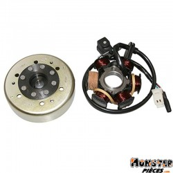 ALLUMAGE SCOOT ADAPTABLE PEUGEOT 50 LUDIX 2004> (5 POLES)  -SGR-