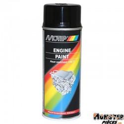 BOMBE DE PEINTURE MOTIP PRO MOTEUR NOIR BRILLANT spray 400ml (04092)