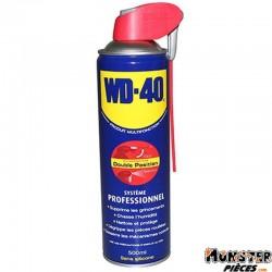 LUBRIFIANT WD-40 MULTIFONCTIONS (AEROSOL 500ml) AVEC SYSTEME PROFESSIONNEL