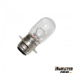 AMPOULE-LAMPE 12V 35-35W CULOT P15D25 BLANC (PROJECTEUR) (VENDU A L'UNITE)  -FLOSSER-