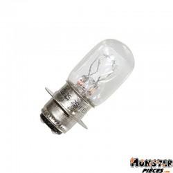 AMPOULE-LAMPE 12V 25-25W CULOT P15D25 BLANC (PROJECTEUR) (VENDU A L'UNITE)  -FLOSSER-