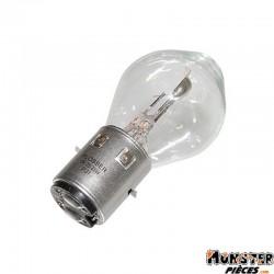 AMPOULE-LAMPE  6V 35-35W NORME S2 CULOT BA20D STANDARD BLANC (PROJECTEUR) (VENDU A L'UNITE)  -FLOSSER-