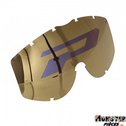 ECRAN LUNETTE-MASQUE CROSS PROGRIP SPHERIC LOGO 3296