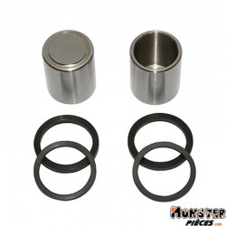 PISTON ETRIER DE FREIN ADAPTABLE GILERA 50 RUNNER (25x31)  (KIT COMPLET)  -SELECTION P2R-