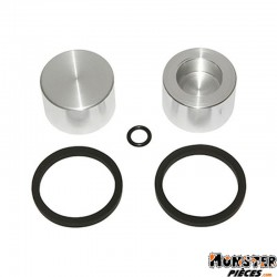 PISTON ETRIER DE FREIN ADAPTABLE APRILIA 50 SR 2000> (30x20)  (KIT COMPLET)  -SELECTION P2R-