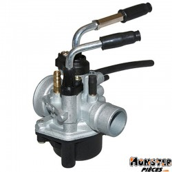 CARBURATEUR SCOOT P2R 12 TYPE PHBN POUR MBK 50 BOOSTER 1990>2003, NITRO 1997>2003-YAMAHA 50 BWS 1990>2003, AEROX 1997>2003  -QUA