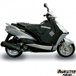 TABLIER COUVRE JAMBE TUCANO POUR GILERA 50 RUNNER 1999>2005, 125 RUNNER 1999>2005 (R018-N) (THERMOSCUD)