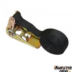 SANGLE MOTO A CLIQUET 25mm x 3,50M (RESISTANCE 150Kg) (VENDU A L'UNITE)