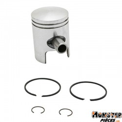 PISTON SCOOT ORIGINE PIAGGIO 50 ZIP 1996>, TYPHOON 1996>, FLY 2T 2005>, LIBERTY 2T 1998>, NRG 1998>, VESPA LX 2T, VESPA-S 2T 200
